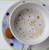 Fehércsokis latte macchiato