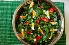 spárgás tavaszi saláta